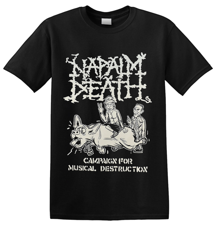 NAPALM DEATH - 'Campaign For Musical Destruction' T-Shirt