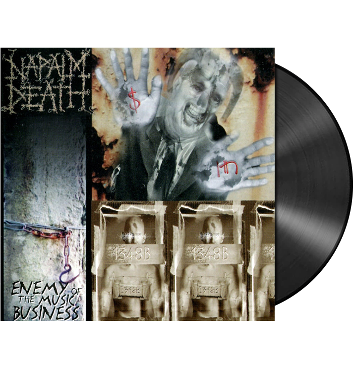 NAPALM DEATH - 'Enemy Of The Music Business' LP