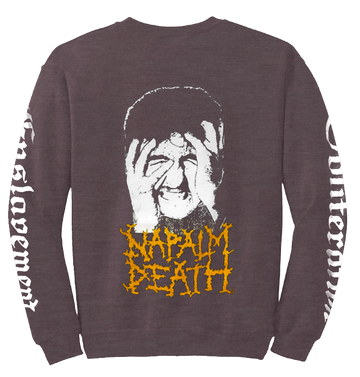 NAPALM DEATH - 'From Enslavement to Obliteration' Long Sleeve Sweatshirt