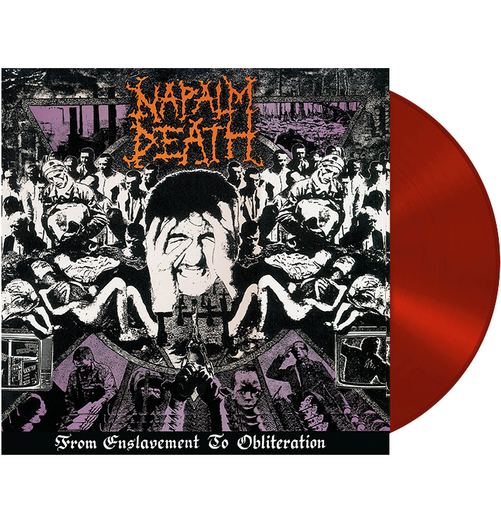 NAPALM DEATH - 'From Enslavement To Obliteration' LP