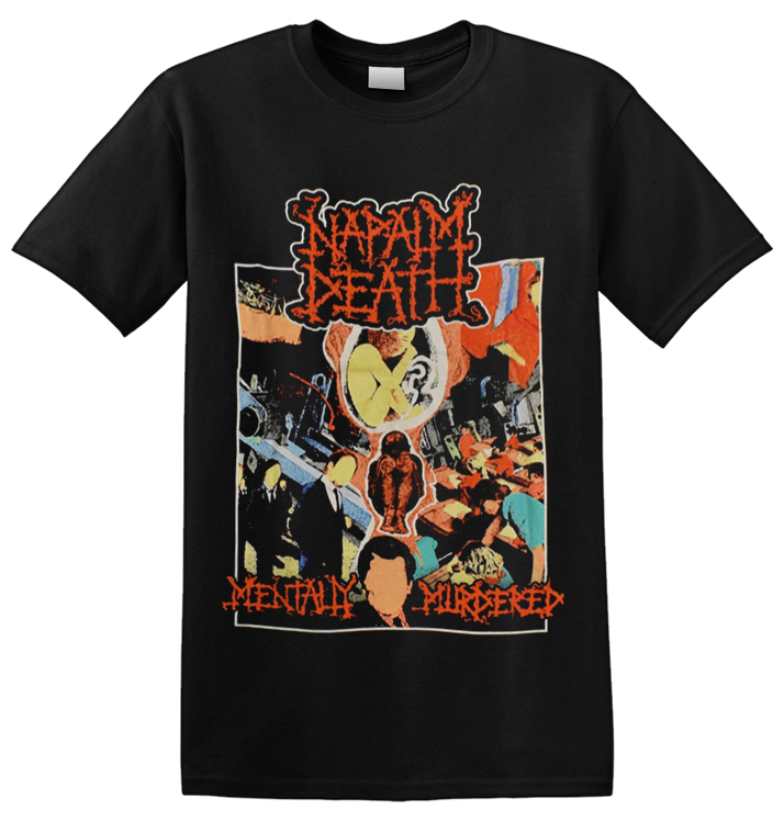 NAPALM DEATH - 'Mentally Murdered' T-Shirt