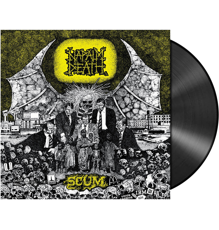NAPALM DEATH - 'Scum' LP