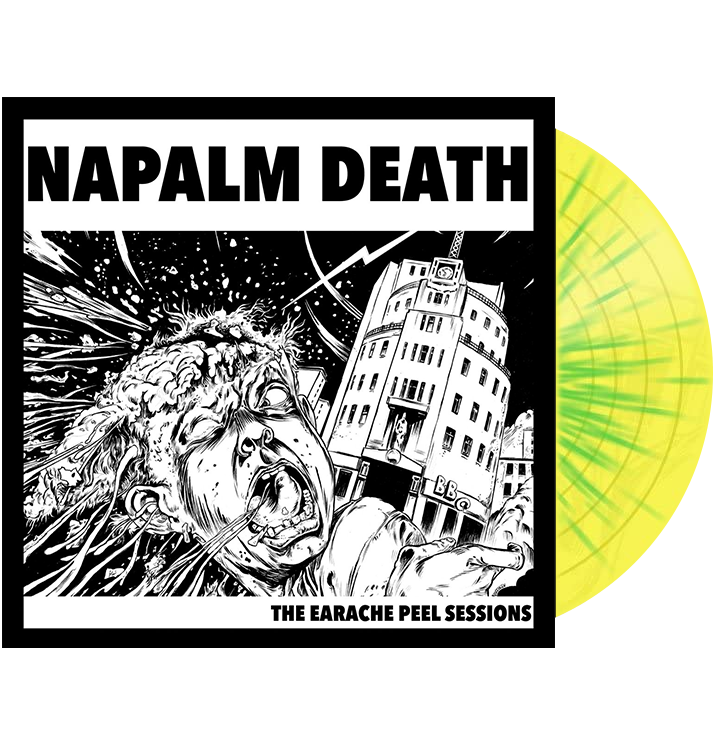 NAPALM DEATH - 'The Earache Peel Sessions' LP