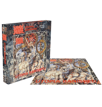 NAPALM DEATH - 'Utopia Banished' Puzzle
