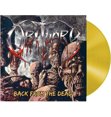 OBITUARY - 'Back From The Dead' LP