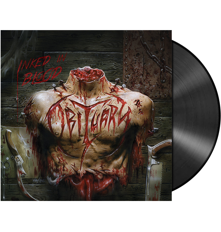OBITUARY - 'Inked In Blood' 2xLP