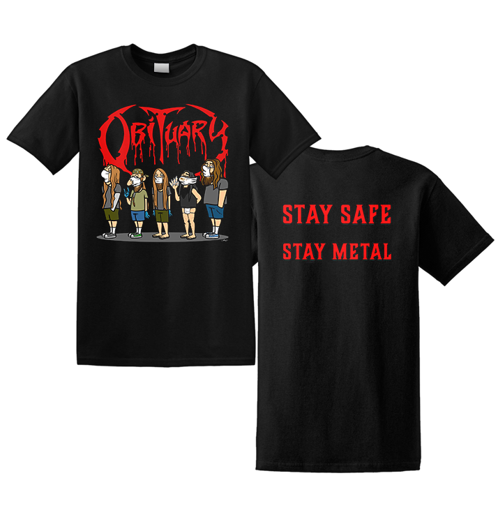 OBITUARY - 'Stay Safe' T-Shirt