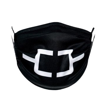 OMNIUM GATHERUM - 'Bracket Logo' Face Mask