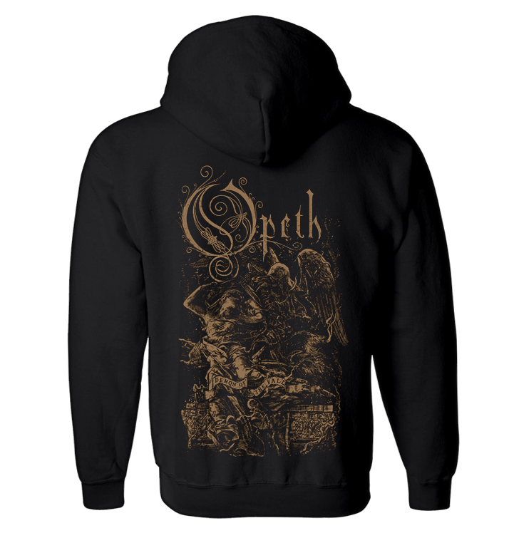 OPETH - 'Demon of the Fall' Zip-Up Hoodie (PREORDER)