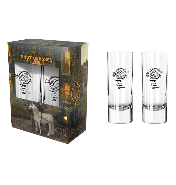 OPETH - 'In Caude Venenum' Shot Glasses