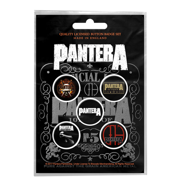 PANTERA - '101 Proof' Badge Set