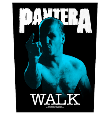PANTERA - 'Walk' Back Patch