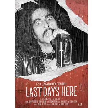 PENTAGRAM - 'Last Days Here' DVD