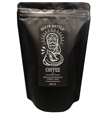 DEATH RATTLE COFFEE - 'Espresso Blend'