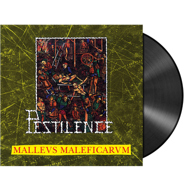 PESTILENCE - 'Malleus Maleficarum' LP