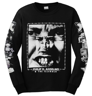 PHILIP H. ANSELMO & THE ILLEGALS - 'Choosing Mental Illness As A Virtue' Long Sleeve