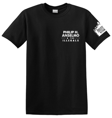 PHILIP H. ANSELMO & THE ILLEGALS - 'Philip H. Anselmo & The Illegals' T-Shirt
