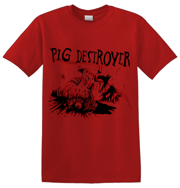 PIG DESTROYER - '38 Counts Of Battery' T-Shirt