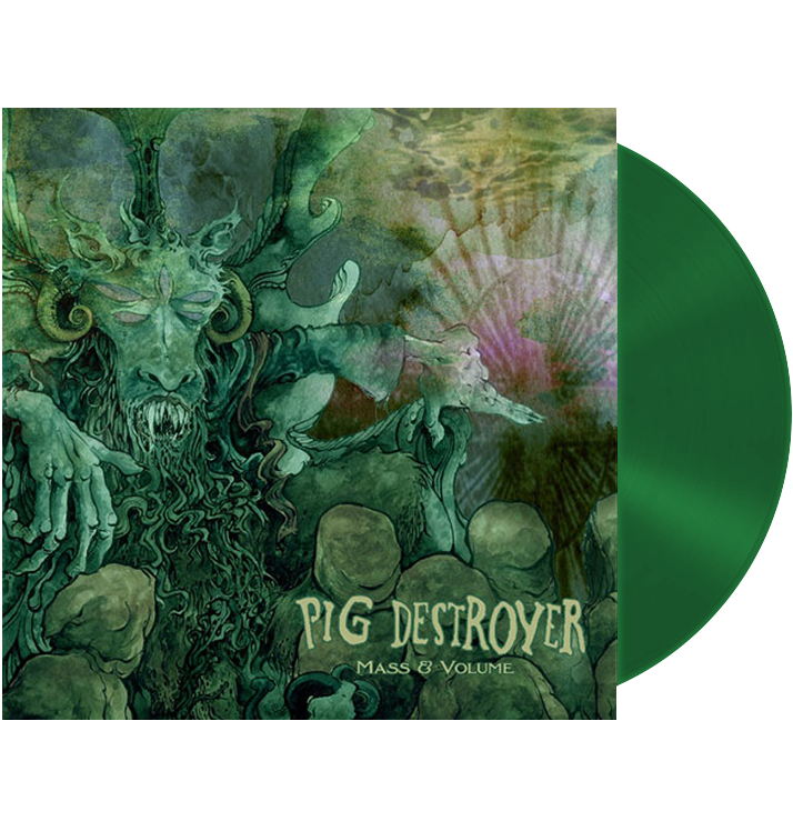 PIG DESTROYER - 'Mass & Volume' LP