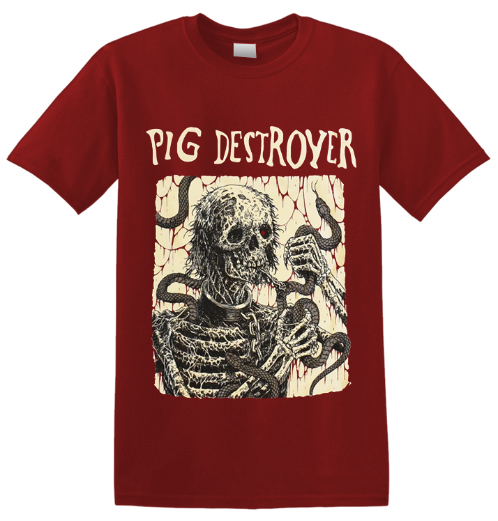 PIG DESTROYER - 'Snake Eater' T-Shirt