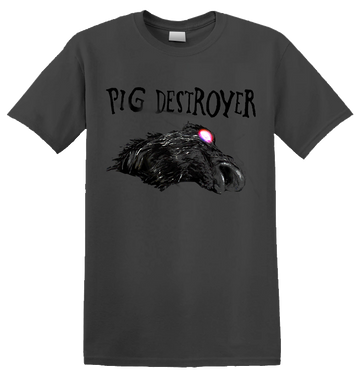 PIG DESTROYER - 'The Octagonal Stairway' Charcoal T-Shirt