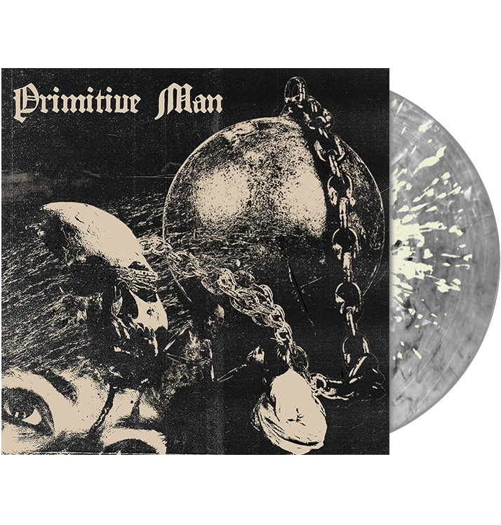 PRIMITIVE MAN - 'Caustic' 2xLP