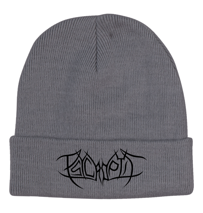 PSYCROPTIC - 'Logo' Grey Roll Up Beanie