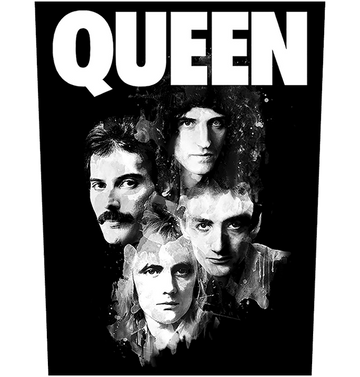 QUEEN - 'Faces' Back Patch