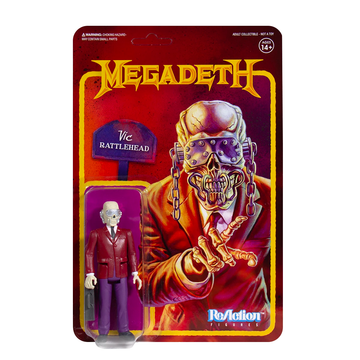 MEGADETH - 'Vic Rattlehead' ReAction Figure