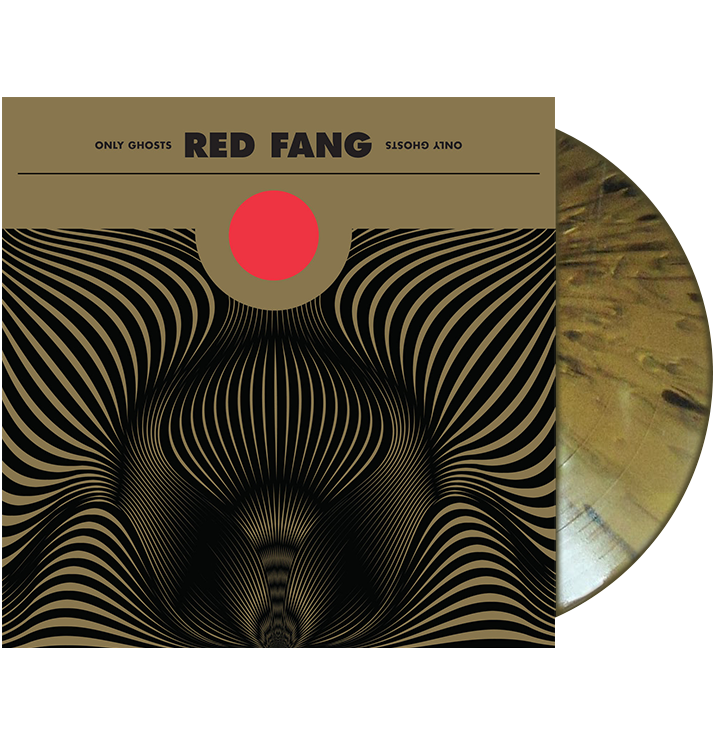 RED FANG - 'Only Ghosts' LP (Gold with Black Splatter Vinyl)