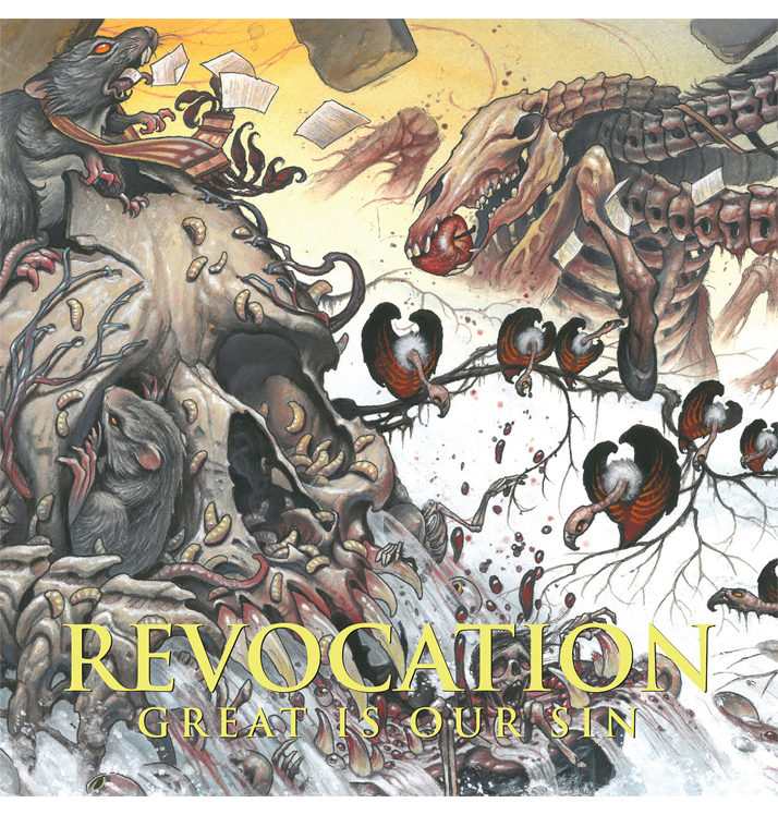REVOCATION - 'Great Is Our Sin' CD