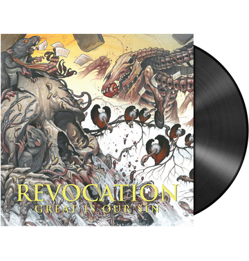 REVOCATION - 'Great Is Our Sin' LP