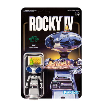 ROCKY - 'Paulie's Robot' ReAction Figure