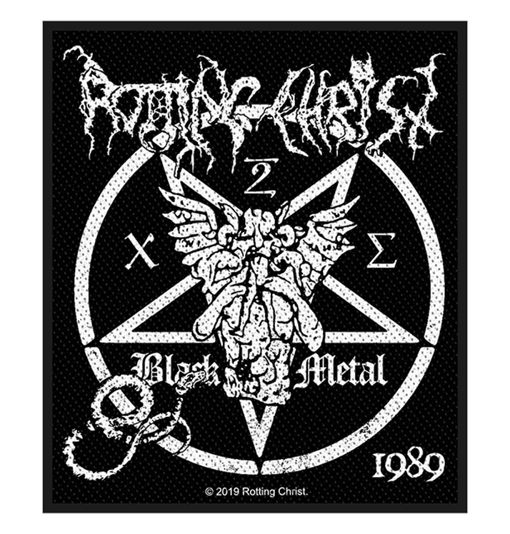 ROTTING CHRIST - 'Black Metal' Patch
