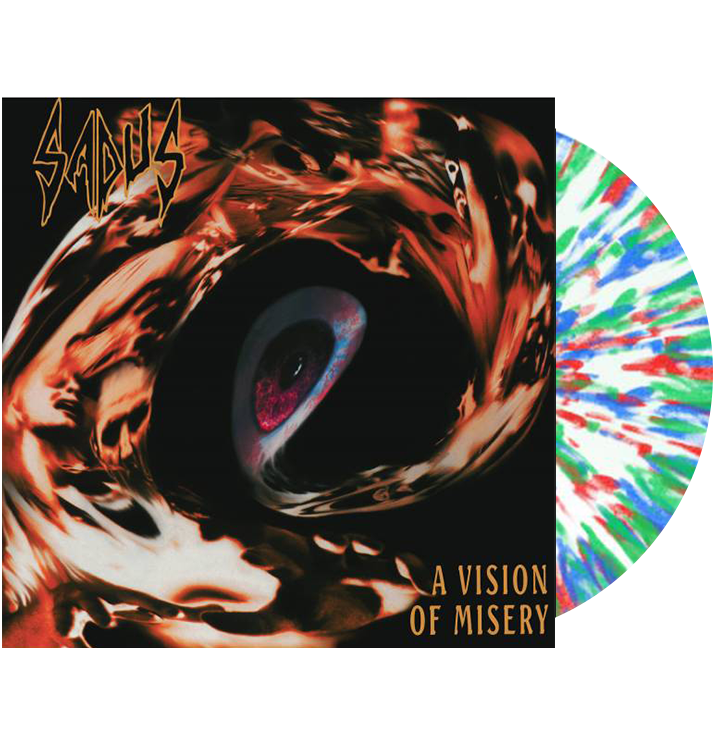 SADUS - 'A Vision Of Misery' LP