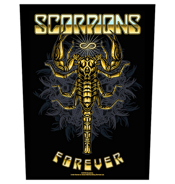 SCORPIONS - 'Forever' Back Patch