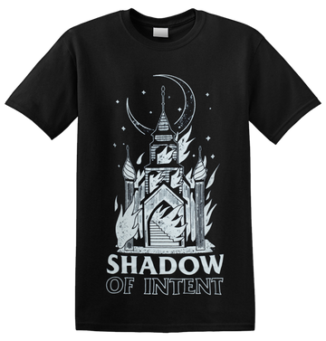 SHADOW OF INTENT - 'Burning Church' T-Shirt