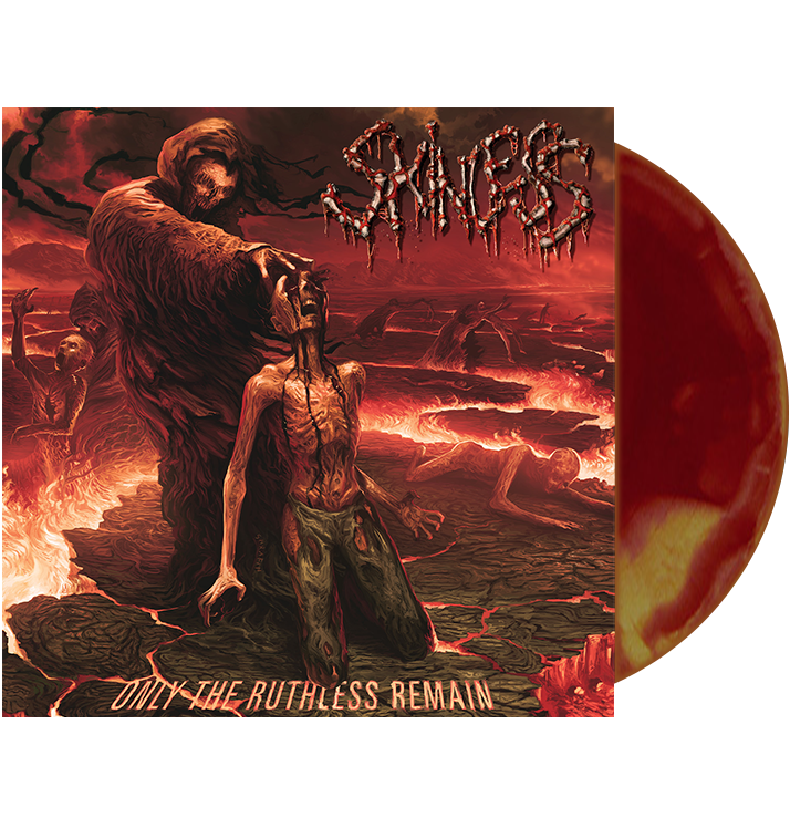 SKINLESS - 'Only The Ruthless Remain' LP