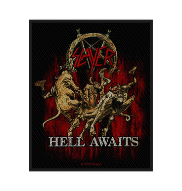 SLAYER - 'Hell Awaits' Patch