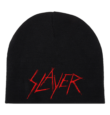 SLAYER - 'Scratched Logo' Beanie