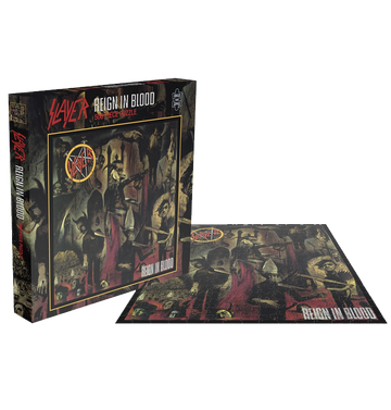 SLAYER - 'Reign In Blood' Puzzle