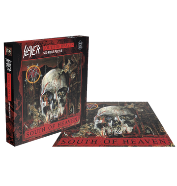 SLAYER - 'South Of Heaven' Puzzle