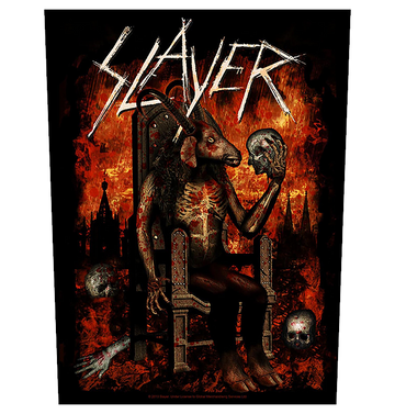 SLAYER - 'Devil On Throne' Back Patch