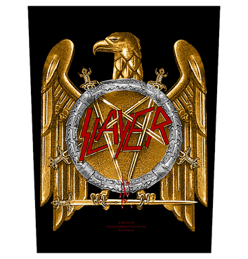 SLAYER - 'Golden Eagle' Back Patch