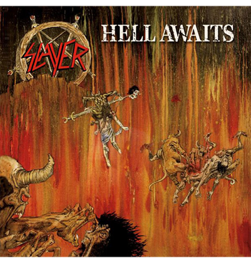 SLAYER - 'Hell Awaits' CD