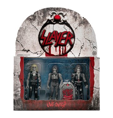 SLAYER - 'Live Undead' ReAction Figure