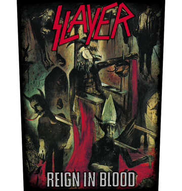 SLAYER - 'Reign in Blood' Back Patch