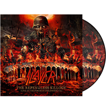 SLAYER - 'The Repentless Killogy (Live At The Forum In Inglewood, CA)' Picture Disc 2xLP