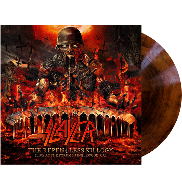 SLAYER - 'The Repentless Killogy (Live At The Forum In Inglewood, CA)' 2xLP