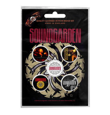 SOUNDGARDEN - 'Badmotorfinger' Badge Set